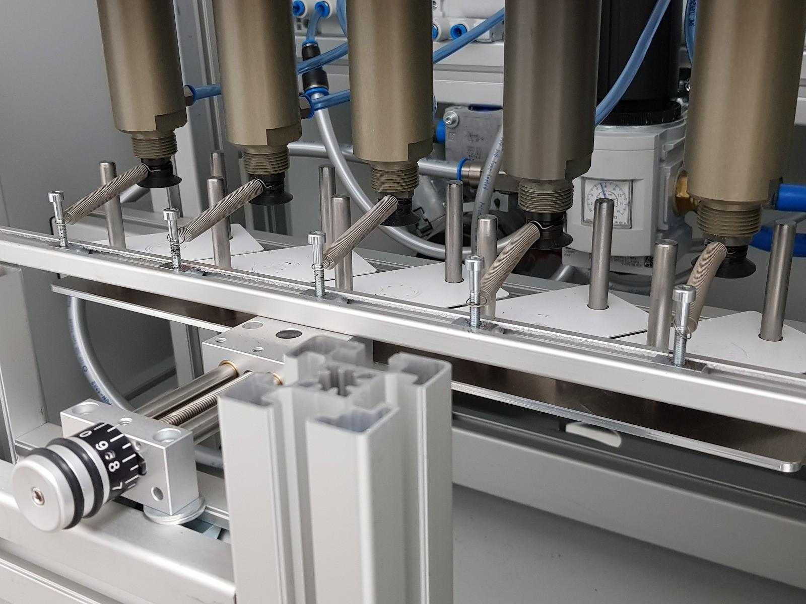 Dauertest Vakuum Hubzylinder