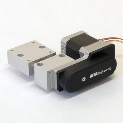 Motorpositioniertisch kurz mit Schrittmotor MPT2408-AS-M-R-2
