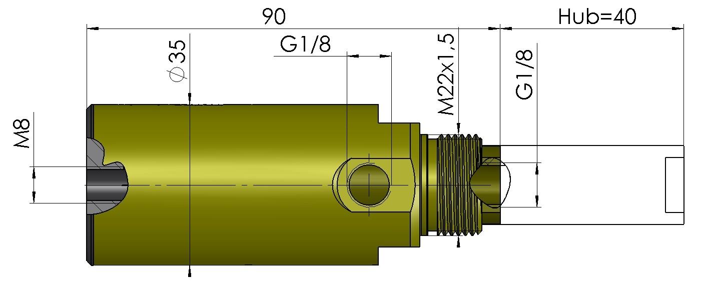 Abmessungen Hubsauger DHS3040-HS