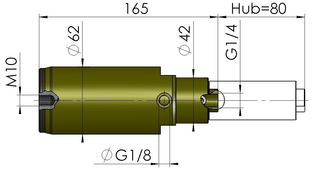 Abmessungen Hubsauger DHS5580