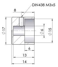 Drehknopf DK17-14-06-Massblatt-mini