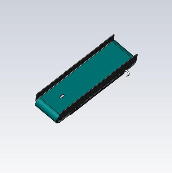 Seitenführung aus VA Blech 2mm